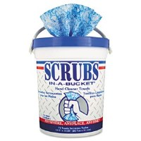 Scrubs Hand Cleaner Towels (6/72)