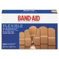 Flexible Fabric Adhesive Bandages Assorted Sizes (100)