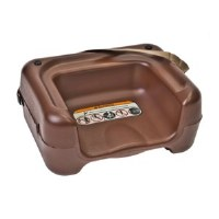Booster Seat Brown Plastic