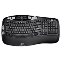 Keyboard K350 Wireless Black