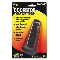 Doorstop Big Foot Brown
