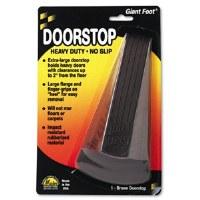 Doorstop Giant Foot Black