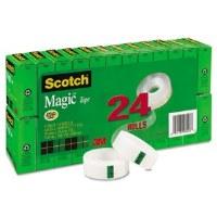 Scotch Magic Tape Value Pk(24)