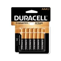 """Duracell CopperTop """"AAA"""" (12)"""