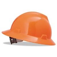 Hard Hat V-Gard Orange (6.5-8)