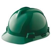Hard Hat V-Gard Green (6.5-8)