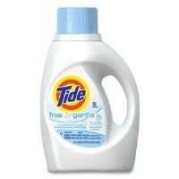 Tide Free & Gentle Laundry Detergent 50oz (6)