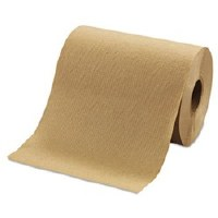 "Hardwound Brown Roll Towels 8""x350' (12)"