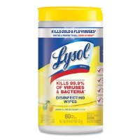 Lysol Disinfecting Wipes Lemon Scent