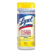 Lysol Disf Wipes Lemon (12/35)