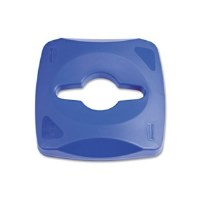 Rubbermaid Square Lid Blue Slt