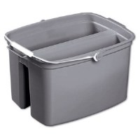 Double Pail 17qt Gray Bucket