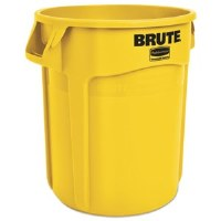 Rubbermaid Brute Container 20gl Yellow