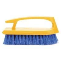 Iron Scrub Brush Yellow/Blue