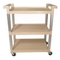 Utility Cart Beige 3 Shelf RM