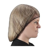 "Hairnets Nylon Brown 24"" (144)"