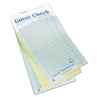 Guest Check Pad Carbonless(50)