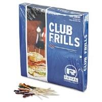 """Toothpick Wood Frill 4"""" (10k)"""
