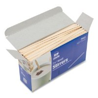 "Coffee Stirrers 7.5"" Wood"