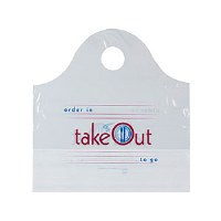 T-Shirt Bag Wave Top To Go 500