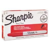 Sharpie Fine Tip Marker RD(12)