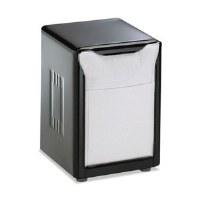 Napkin Dispenser Low Fold BLK
