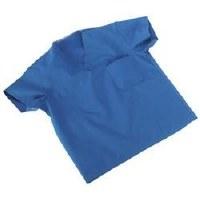 Scrub Shirts XL Blue Poly (50)