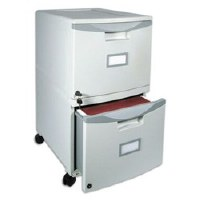 Two Drawer Mobile Filing Cabinet