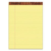 "Legal Pad Canary 8.5"" x 11.75"""