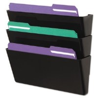 Wall File Holder Three Pocket
