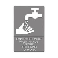ADA Sign Employee Wash Hands