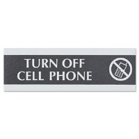 """Sign """"Turn Off Cell Phone"""""""
