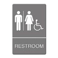 ADA Sign Restroom Handicap