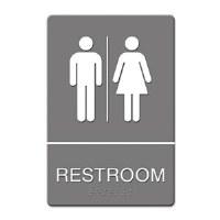 ADA Sign Restroom Women/Men