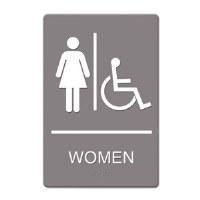 ADA Sign Women Handicap