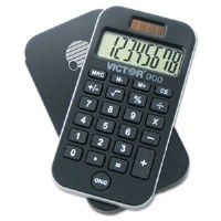 900 Antimicrobial Pocket Calculator 8-Digit LCD