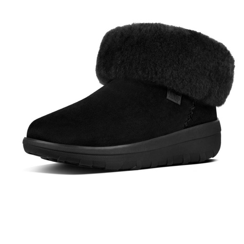Fitflop Mukluk Shorty B96 090 All Black