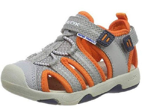 Geox Sand B920FB Gray Orange