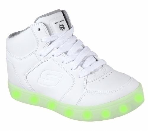 Skechers 90600L Energy Lights White