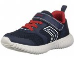 Geox J926 Waviness Navy Red