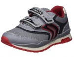 Geox Pavel J9215A Grey Red
