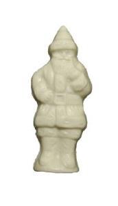 White Standing Santa