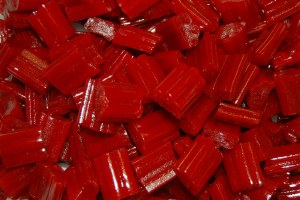 1 lb. Red Licorice Bites