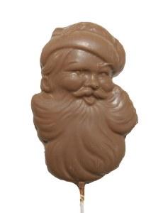 Milk Santa Face Pop
