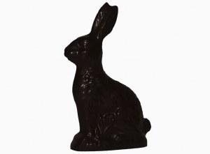 XL Dark Sitting Bunny