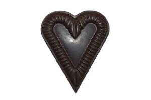 Dark Ruffled Heart