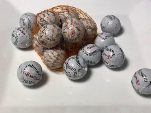 2 oz. Baseballs Mesh Bag