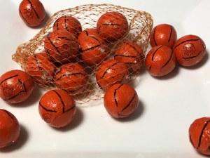 2 oz. Basketballs Mesh Bag