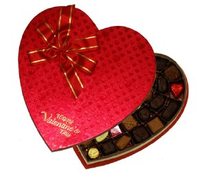 27 oz. Heart Box Assorted