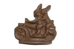 Milk Motorcycle Bunny
